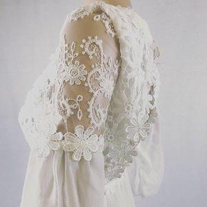 Dresses & Skirts - VTG 90s DEADSTOCK 1960s Bridal Mini Dress